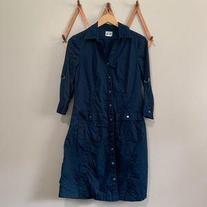 Converse dark blue dress